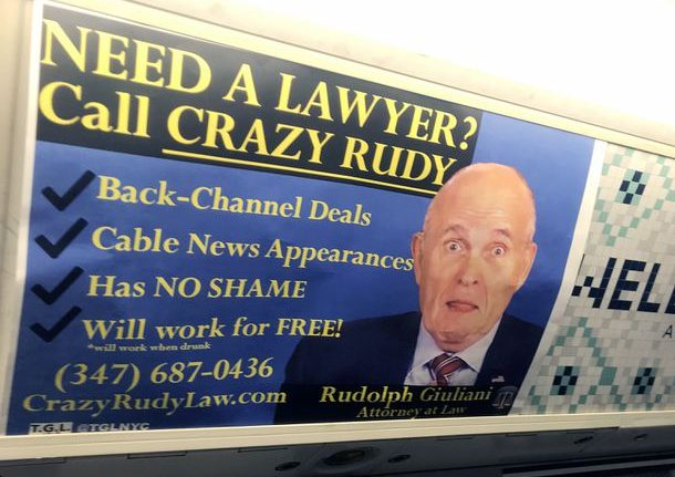 NYC Subway Ad Giuliani