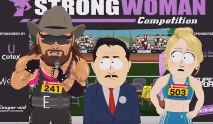 South Park Mocks Trans Athletes