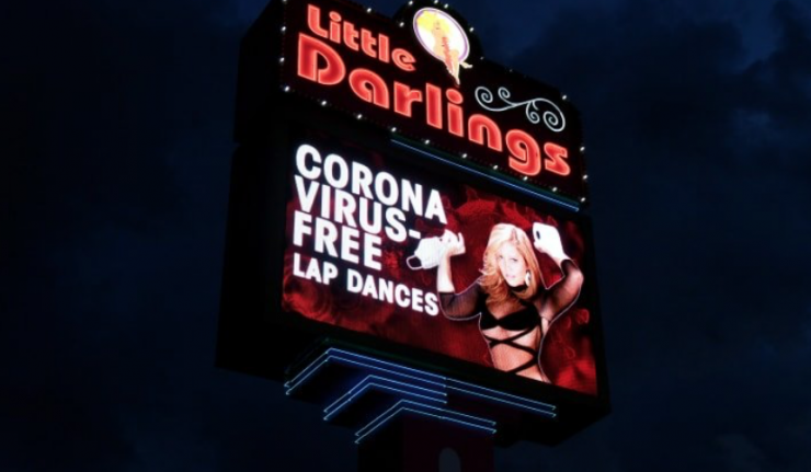strip club coronavirus